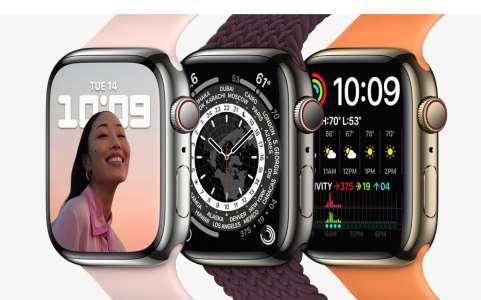 Apple Watch Series 8 – Un changement de taille