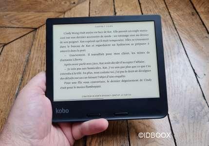 Kobo Libra 2 la liseuse d'ebooks qui sait lire des livres audio