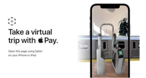 Apple lance deux nouvelles expériences AR dédiées à Apple Pay Express Transit