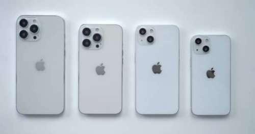 iPhone 13 : appareil photo et batterie améliorés, prix inchangé