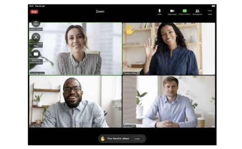 Zoom pour iPad devient compatible avec la reconnaissance des gestes visuels