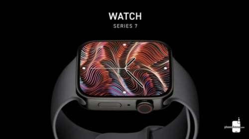 Apple Watch Series 7 : expéditions d'ici la fin du mois
