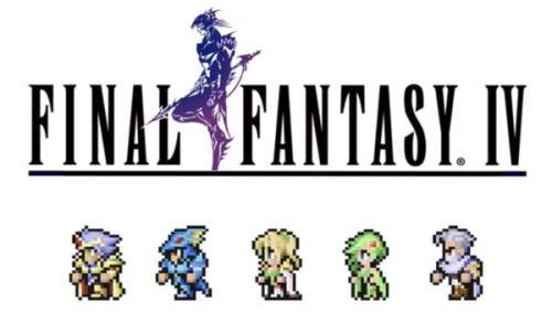 Final Fantasy 4 Pixel Remaster disponible sur l'App Store