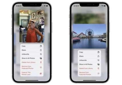 iOS 15 vous permet de limiter les personnes et les lieux dans Souvenirs de l'app photos