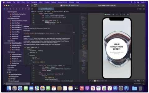 Apple lance Xcode 13, logiciel destiné aux développeurs