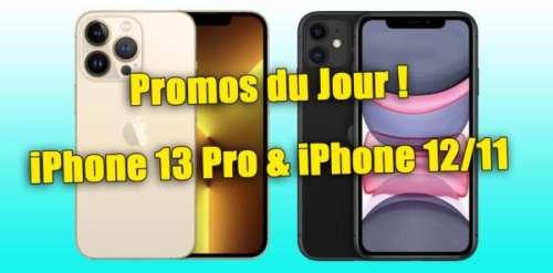 🔥 Promos : iPhone 13/12/11 (mini/Pro/Max) dès 485€ + 200€ remboursés