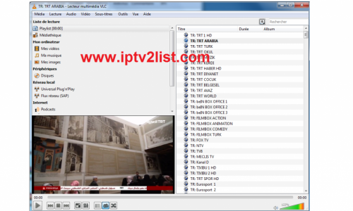 Playlist Vlc Turkish Server Iptv 06/04/2019