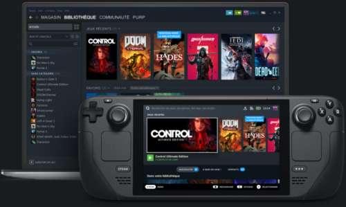 Voici Steam Deck, la console portable de Valve qui ressemble à la Switch