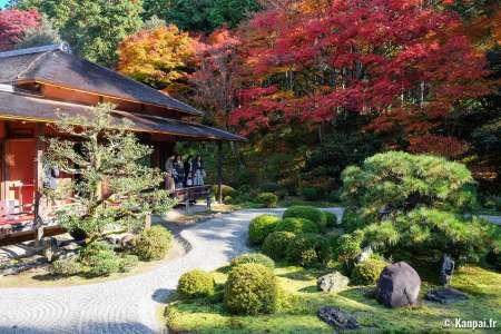 Manshu-in - Le discret temple Monzeki du nord-est de Kyoto