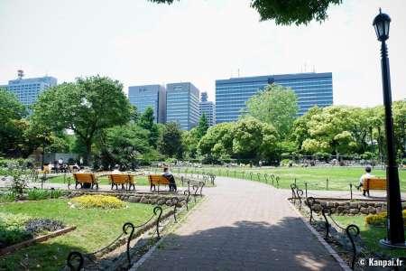 Parc Hibiya - Le jardin occidental dans le cœur de Tokyo
