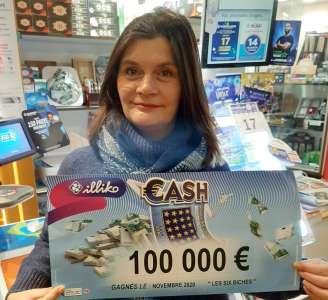 Insolite            Les 100.000€ d'un jeu à gratter remportés dans un tabac-presse de Brinon-sur-Sauldre