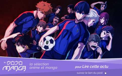 Blue Lock, le manga de football adapté en anime