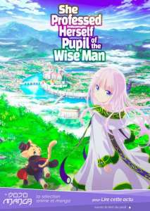 Kenja no Deshi wo Nanoru Kenja, l'anime présente son visuel, son staff et une vidéo
