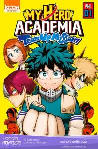 My Hero Academia - Team Up Mission, le spin-off arrive en France