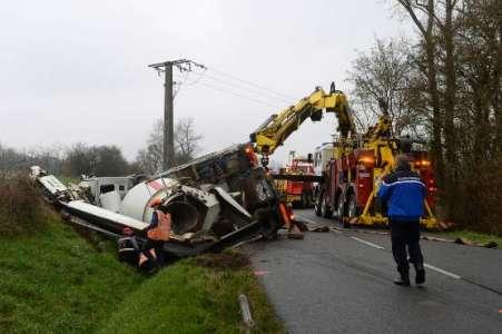 Un chauffeur routier du Cher décède dans un accident à Neuvy-sur-Loire