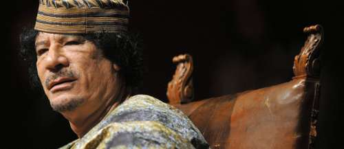 «Kadhafi coche toutes les cases du héros ou de l'antihéros pour biographe»