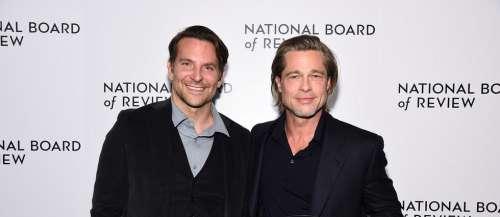 Brad Pitt remercie Bradley Cooper de l'avoir sorti de l'alcoolisme