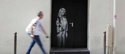Une œuvre attribuée à Banksy, volée au Bataclan en 2019, réapparaîten Italie