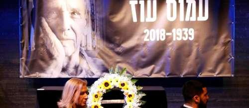 Unlivreécorne l'image du grand écrivain israélien Amos Oz