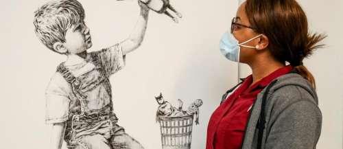 20millions d'euros pour l'hôpital: le nouveau record de vente de Banksy