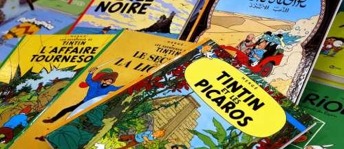 «Tintin»: la justice reconnaît «l'exception de parodie» d'un peintre breton