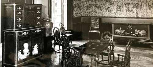 Le château de Chantilly récupère ses cabinets japonais volés