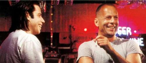 Bruce Willis et John Travolta: les retrouvailles, 27ans après «Pulp Fiction»