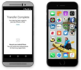 Google développe l'application Switch to Android pour iOS