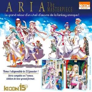 La série Aria revient en version Masterpiece chez Ki-oon