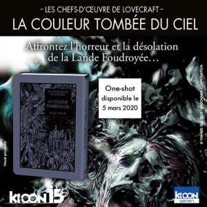 Lovecraft et Gô Tanabe reviennent chez Ki-oon avec La Couleur tombée du ciel