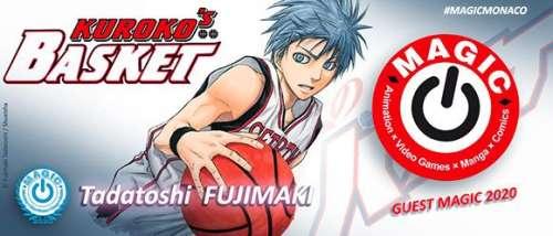 Tadatoshi Fujimaki, l'auteur de Kuroko's Basket invité du Magic Monaco 2020
