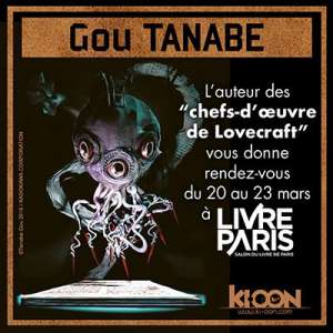Gou Tanabe invité des éditions Ki-oon à Livre Paris