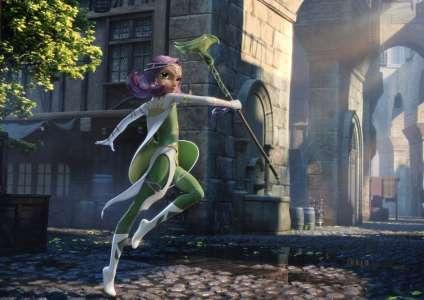 Un film d'animation pour les Légendaires