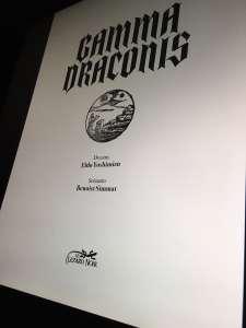 Une date et de nouvelles images pour le manga Gamma Draconis d'Eldo Yoshimizu