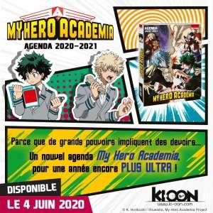 Passez la prochaine rentrée scolaire avec le manga My Hero Academia