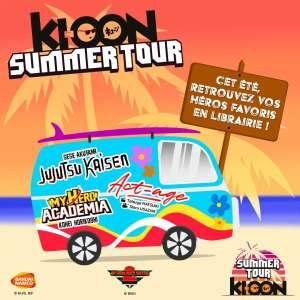 Le Big 3 de Ki-oon vous rendra visite lors du Ki-oon Summer Tour dès demain !