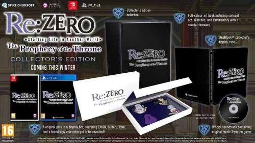 Le jeu Re:ZERO: The Prophecy of the Throne sortira en Occident en édition collector !