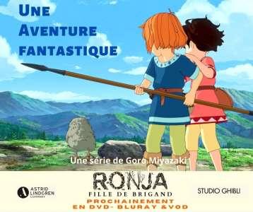 La série Ronja, fille de brigand de Goro Miyazaki bientôt en VOD, DVD et Blu-ray chez Septième Factory
