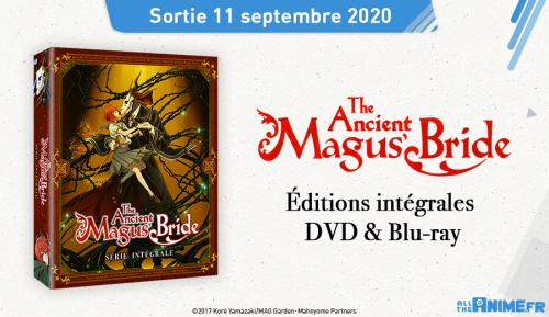 The Ancient Magus Bride s'offre de nouvelles éditions DVD & Blu-ray chez @Anime