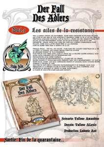 Alexis Tallone lance son manga : Der Fall Des Adlers