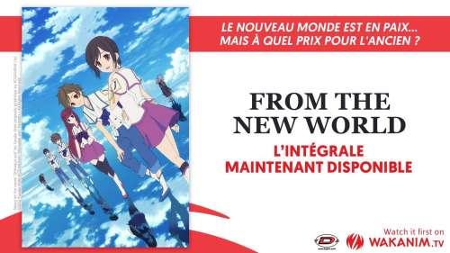 L'anime From the New World (Shin sekai yori) rejoint le catalogue de Wakanim