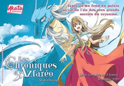 Akata nous présente le manga : Les Chroniques d'Azfaréo