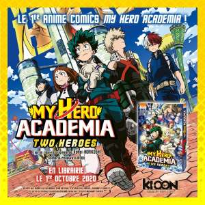 Un trailer pour l'anime comics My Hero Academia Two Heroes