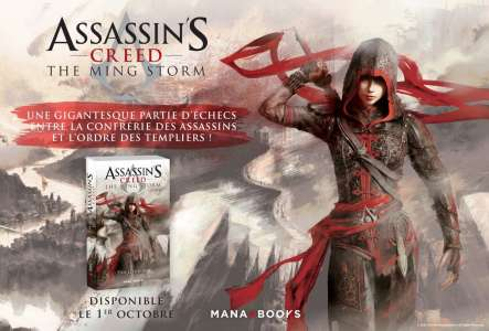 Assassin's Creed en roman chez Mana Books