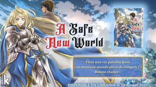 A Safe New World, nouveau manga isekai de Komikku