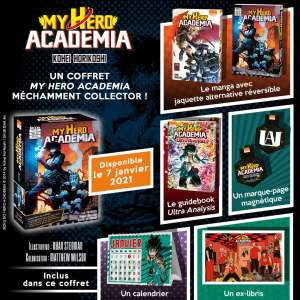 Un coffret collector pour le tome 27 de My Hero Academia