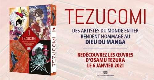 Le magazine Tezucomi arrive en France chez Delcourt/Tonkam !