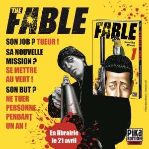 Le manga The Fable à paraitre chez Pika