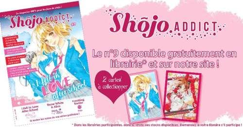 Le nouveau numéro du magazine Shôjo Addict arrive chez Pika