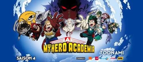 La saison 4 de My Hero Academia arrive sur Toonami